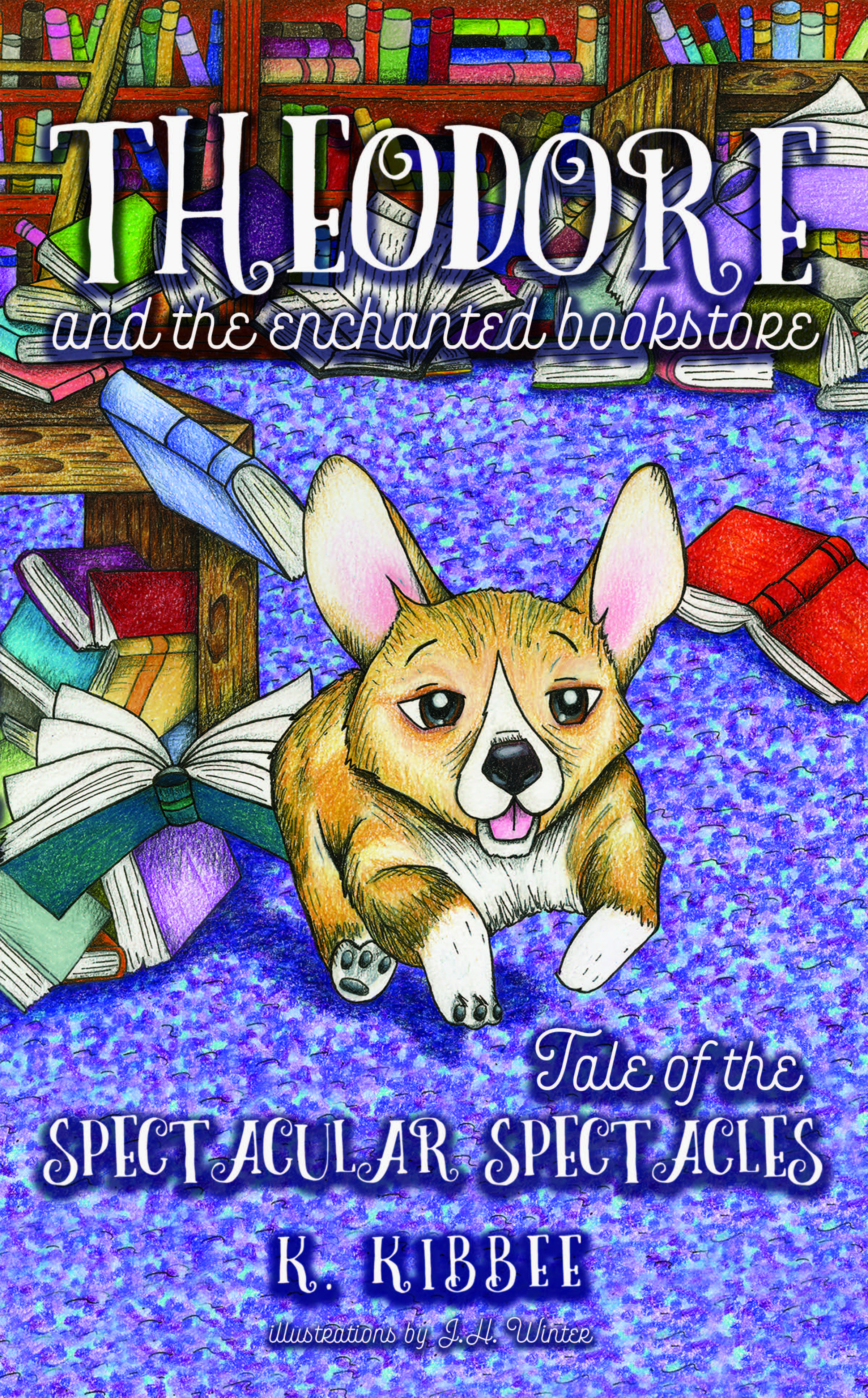 Theodore and the Enchanted Bookstore (book one)
