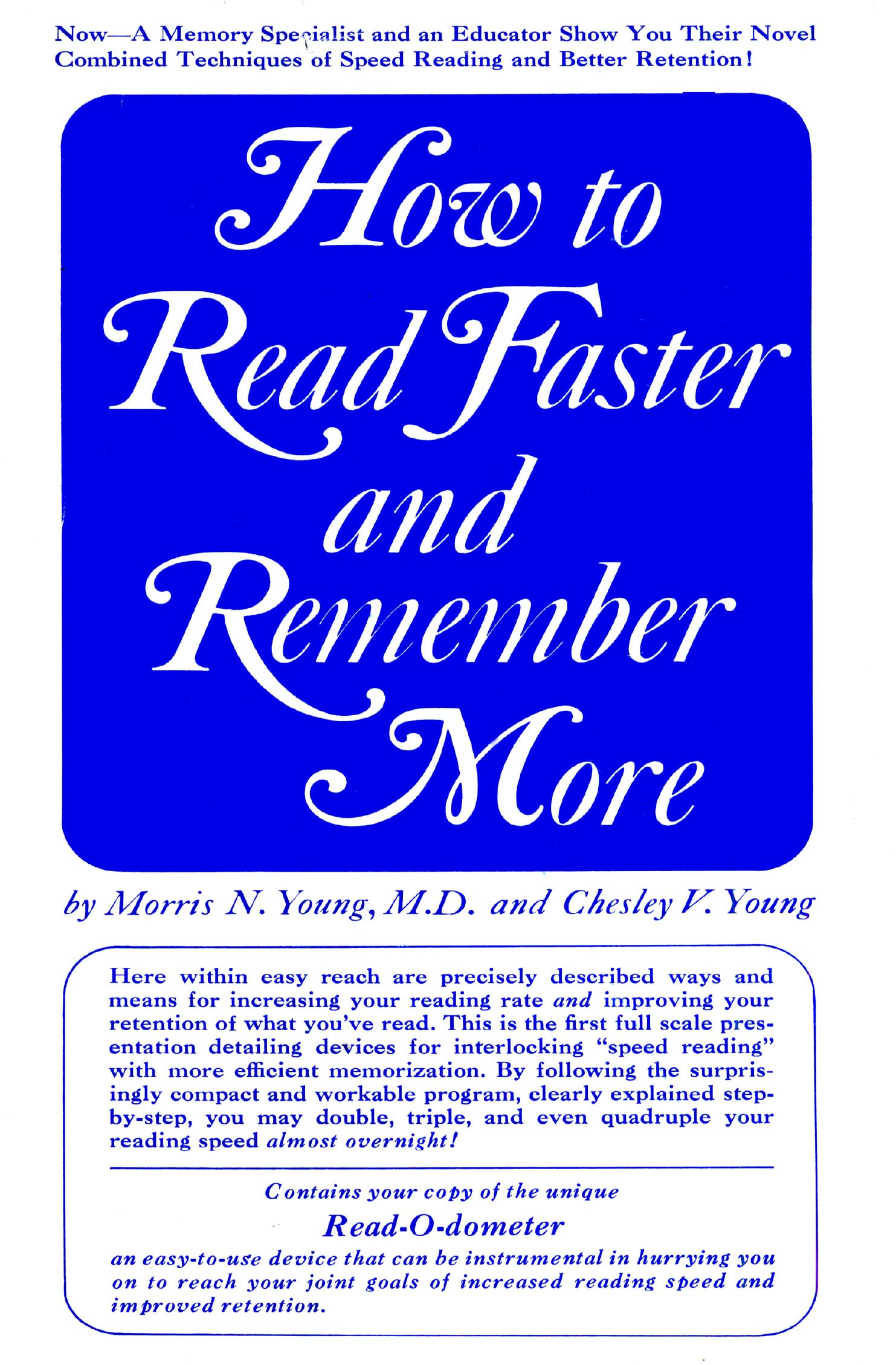 How to Read Faster and Remember More