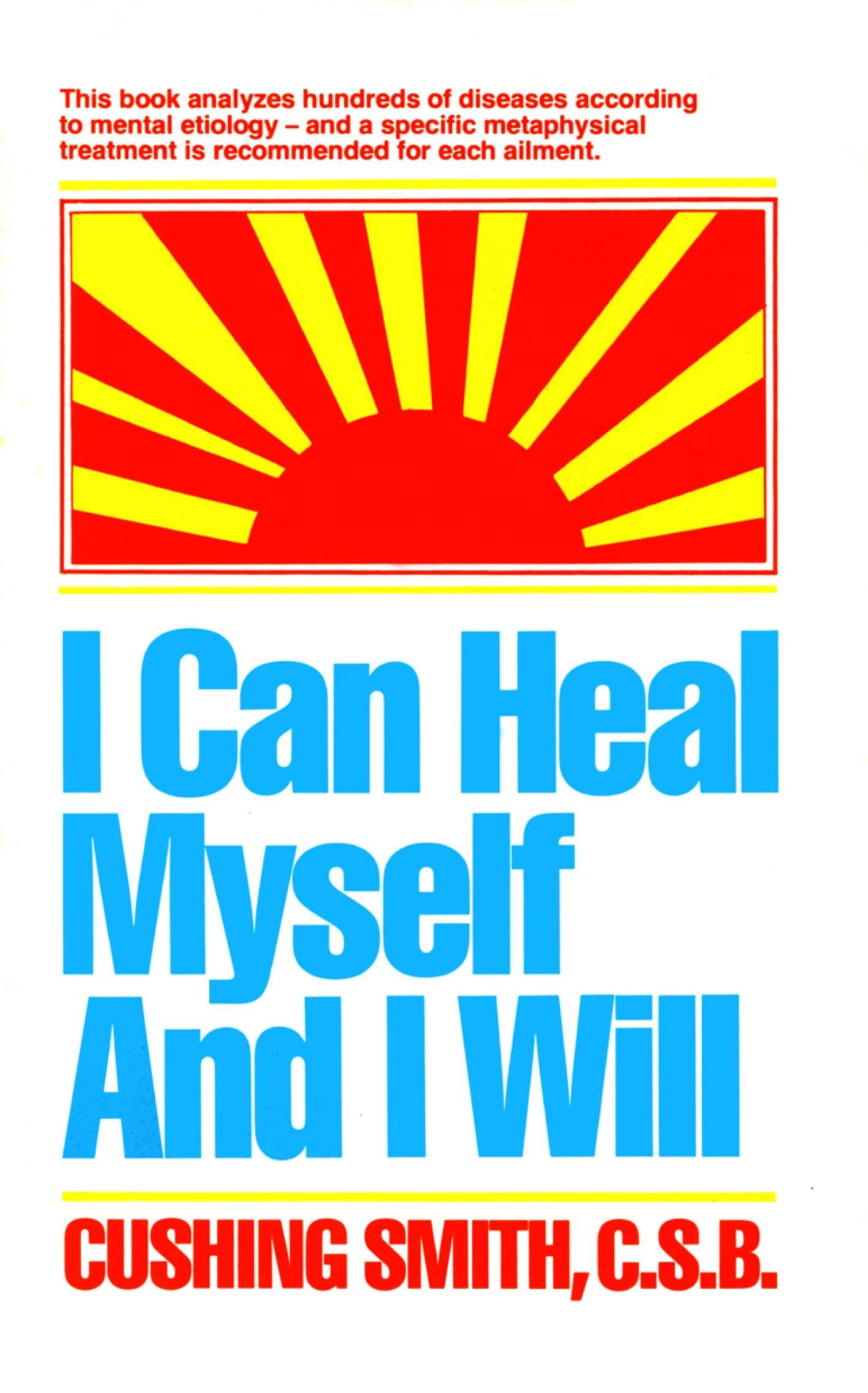 I Can Heal Myself and I Will