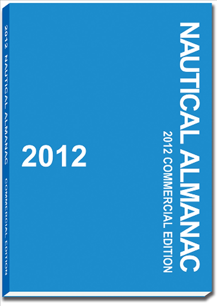 2012 Nautical Almanac