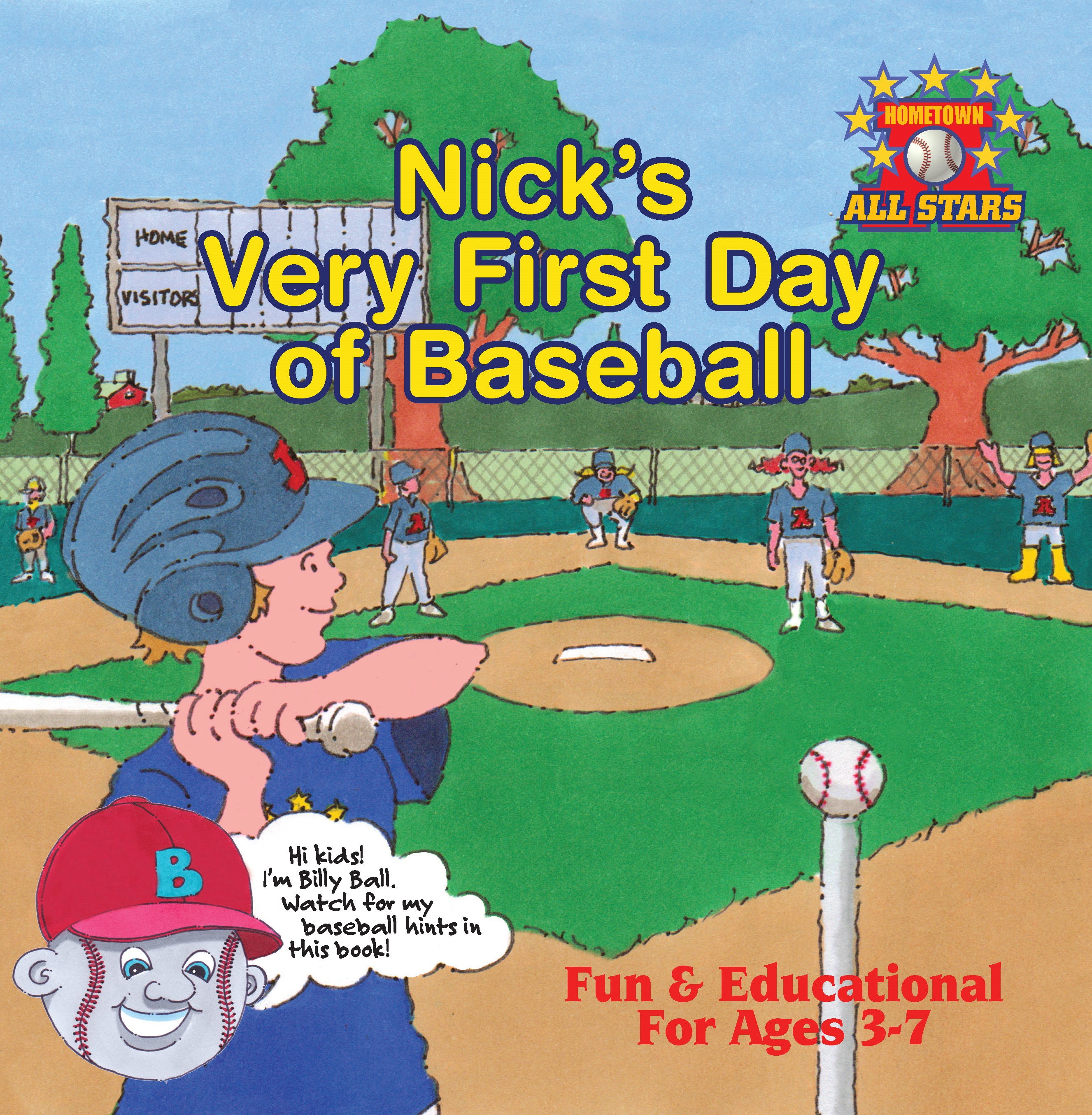 Nick's Very First Day of Baseball
