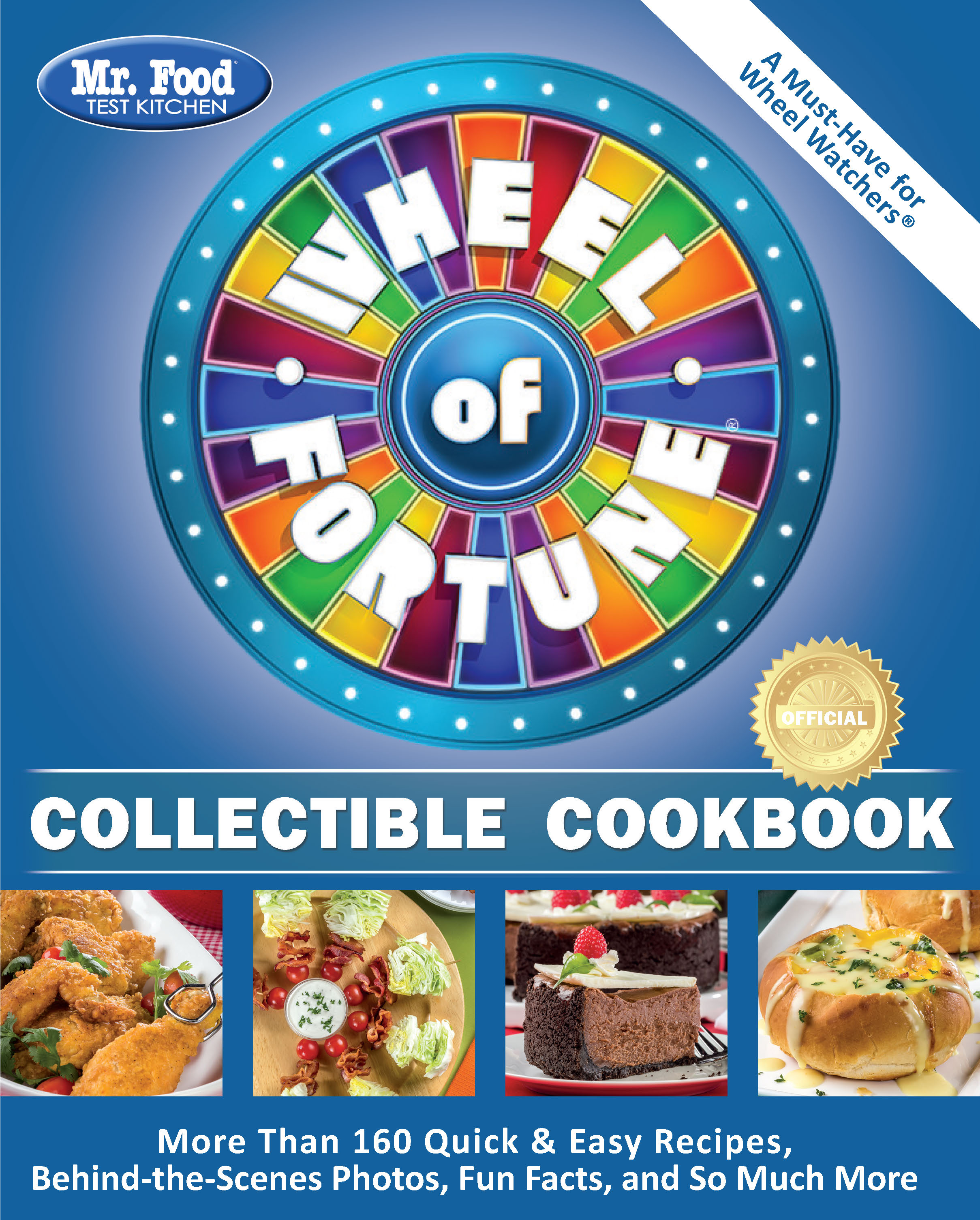 Mr. Food Test Kitchen Wheel of Fortune® Collectible Cookbook
