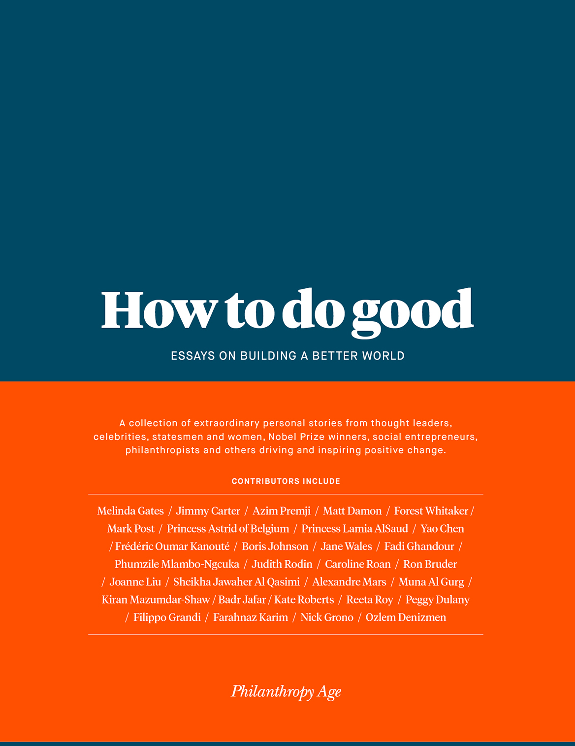 How to do good