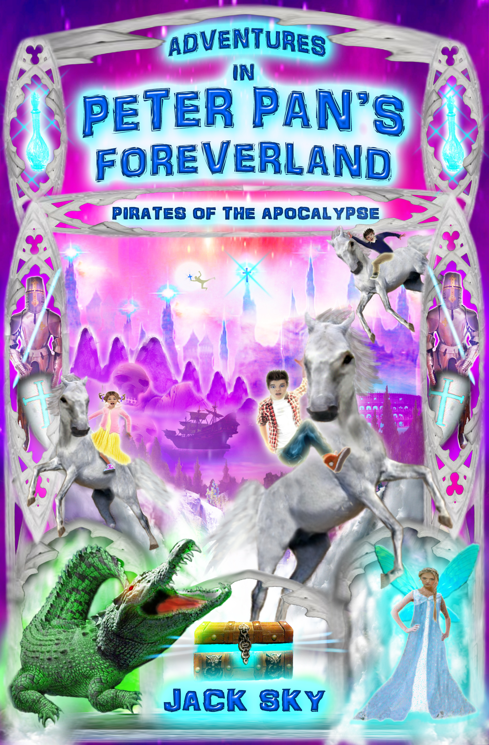 Adventures in Peter Pan's Foreverland - Pirates of the Apocalypse