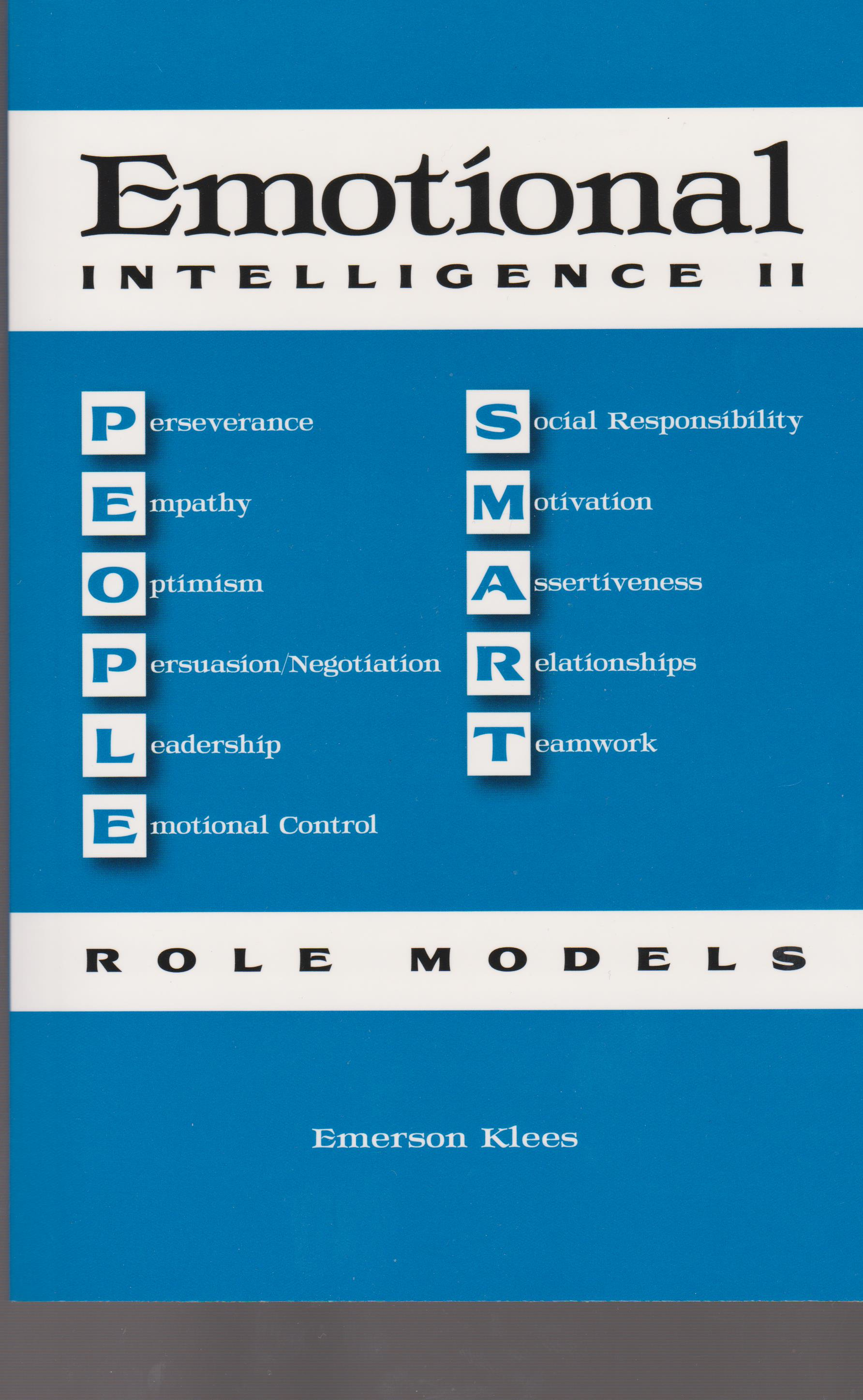 Emotional Intelligence II: People Smart Role Models
