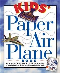 Kids' Paper Airplane Book 8-Copy Counter Display