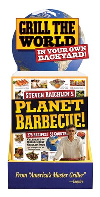 Planet Barbecue! Counter Display 6-Copy
