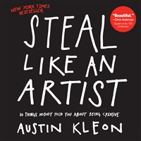 Steal Like an Artist Counter Display 8-Copy