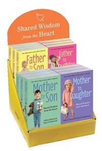 Father to Son & Daughter & Mother to Son & Daughter 12-copy display