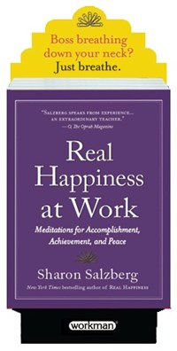 Real Happiness at Work 8 Copy Counter Display