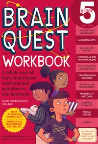 Brain Quest Workbook: Grade 5 5-Copy Counter Display
