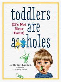 Toddlers are A**holes 8-copy counter display