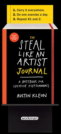 The Steal Like an Artist Journal 5-copy Counter Display