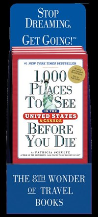 1,000 Places to See in the United States and Canada Before You Die 5-copy Counter Display