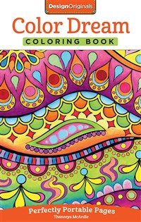 Color Dreams Coloring Book