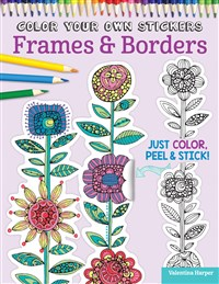Color Your Own Stickers Frames & Borders