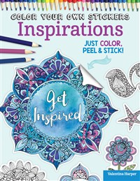 Color Your Own Stickers Inspirations