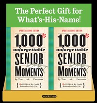1,000 Unforgettable Senior Moments 8-Copy Counter Display
