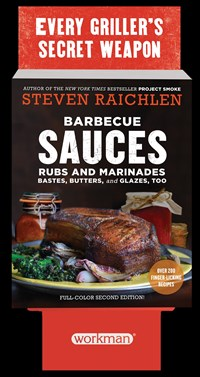 Barbecue Sauces, Rubs, and Marinades 6-Copy Counter Display
