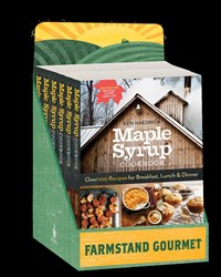 Maple Syrup Cookbook, 3rd Edition 6-copy Counter Display
