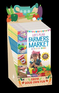 Farmers Market Create-and-Play Activity Book 8-copy Counter Display