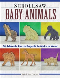 Scroll Saw Baby Animals