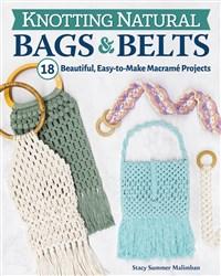 Knotting Natural Bags & Belts