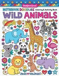 Notebook Doodles Wild Animals