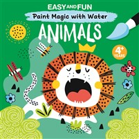Easy and Fun Paint Magic with Water: Animals
