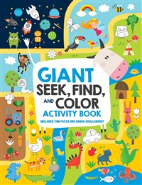 Giant Seek, Find, and Color Activity Book
