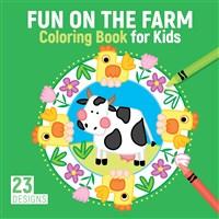 Farm Mandalas Coloring Book for Kids