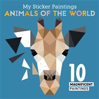 My Sticker Paintings: Animals of the World