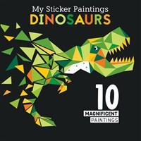 My Sticker Paintings: Dinosaurs