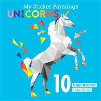My Sticker Paintings: Unicorns