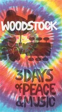 Woodstock Lined Journal Tie-Dye Logo