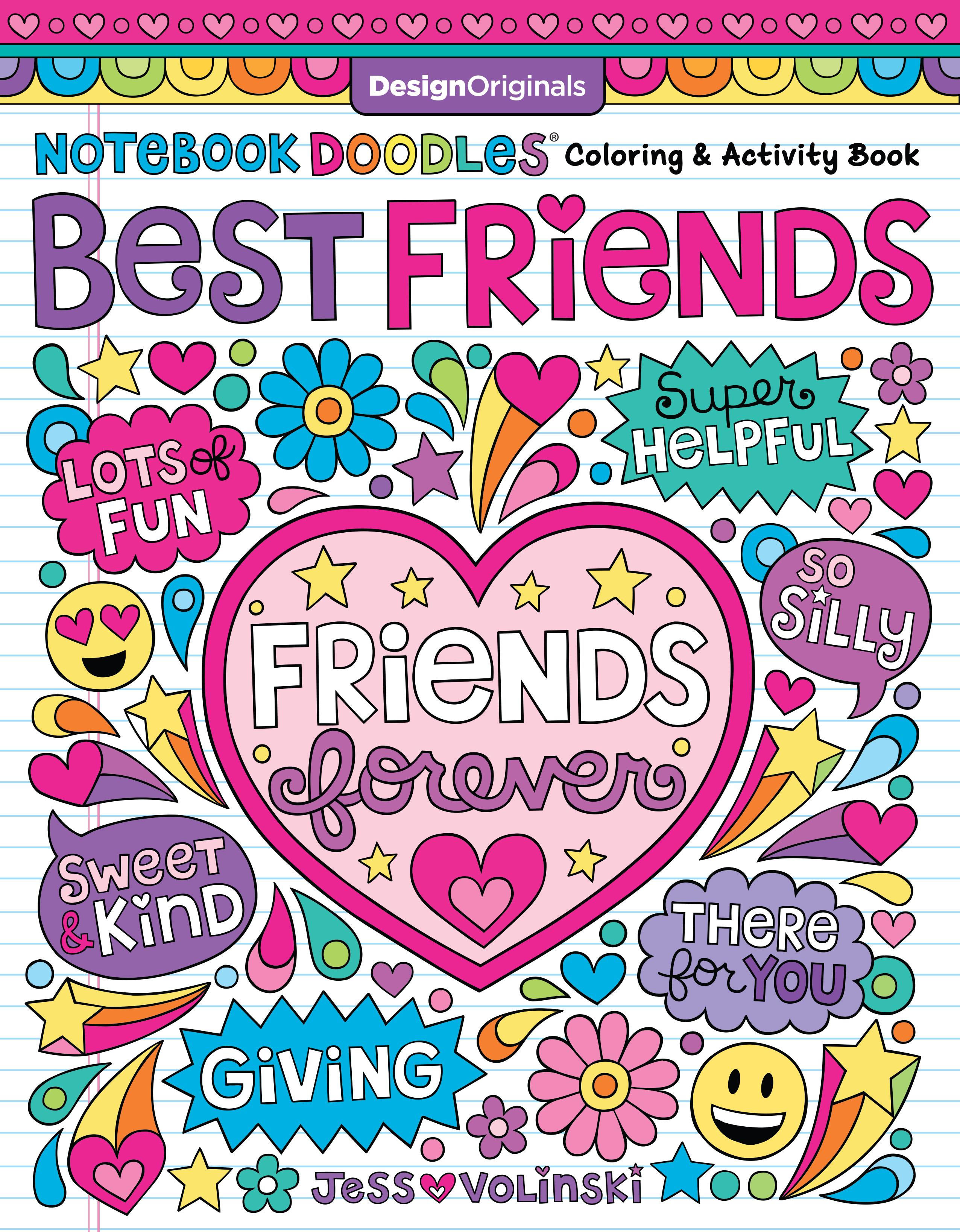 Notebook Doodles Best Friends