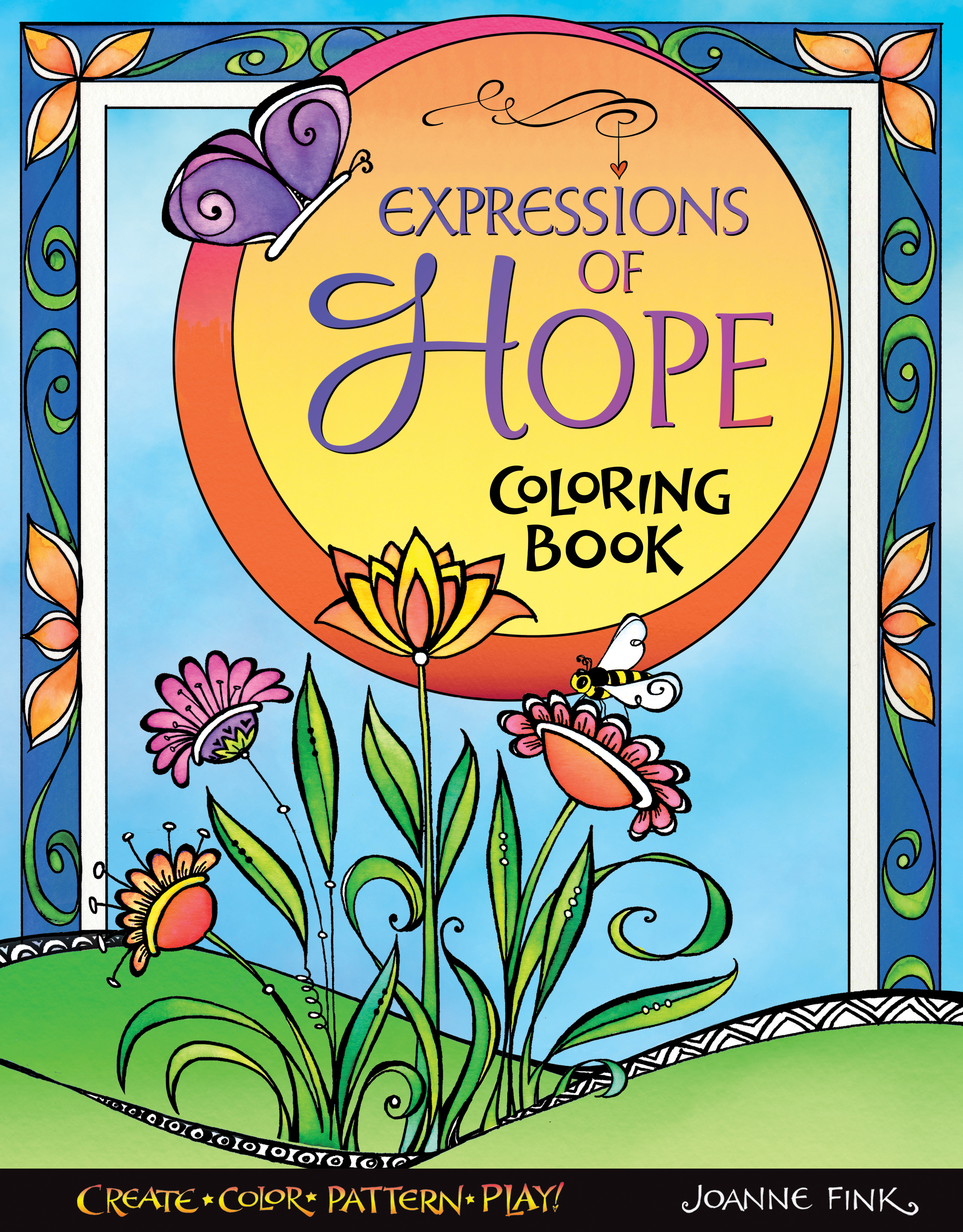 Expressions of Hope Coloring Book