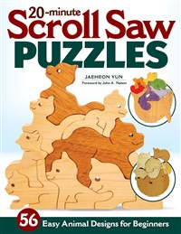 20-Minute Scroll Saw Puzzles