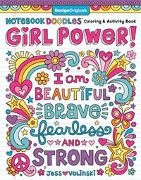 Notebook Doodles Girl Power!