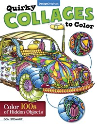 Quirky Collages to Color