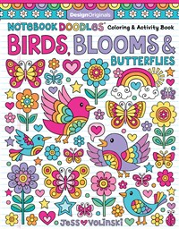 Notebook Doodles Birds, Blooms & Butterflies