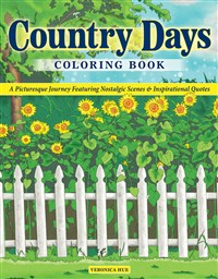 Country Days Coloring Book
