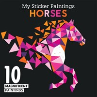My Sticker Paintings: Horses