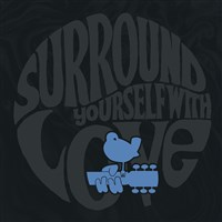 Woodstock Unlined Journal Surround Yourself with Love