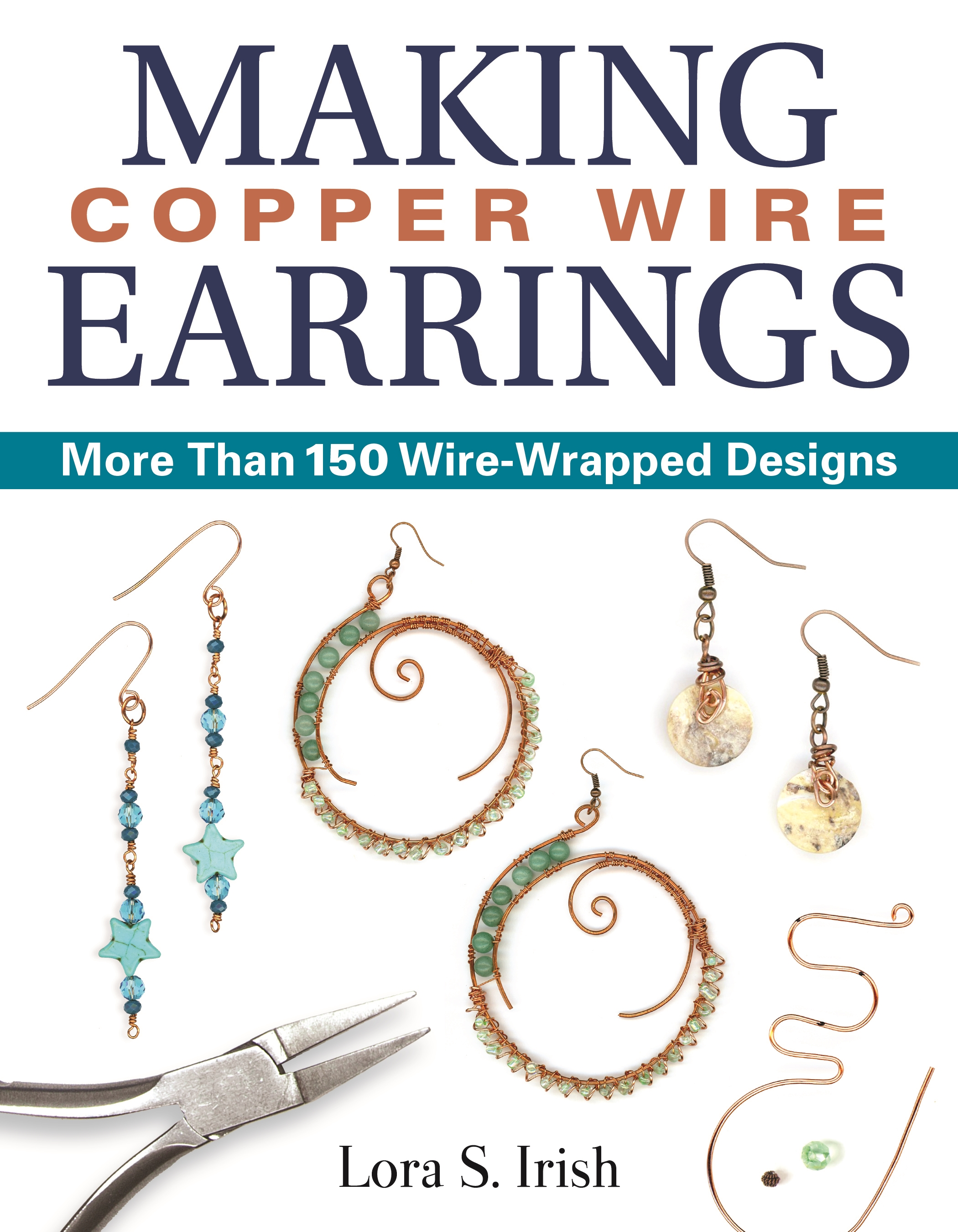 Making Copper Wire Earrings