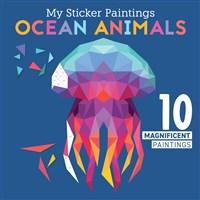 My Sticker Paintings: Ocean Animals