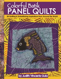 Colorful Batik Panel Quilts