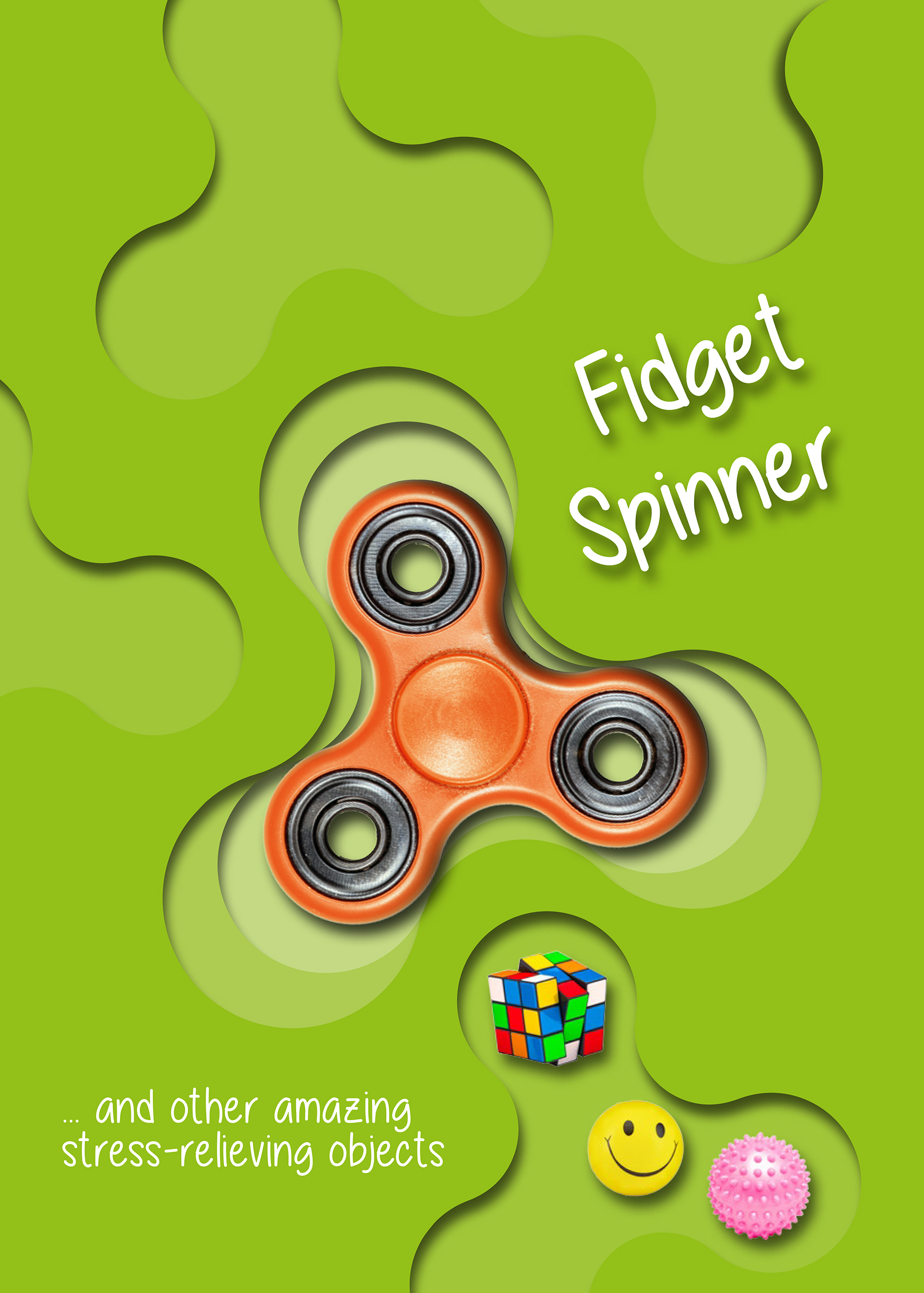 Fidget Spinner...and Other Amazing Stress-Relieving Objects