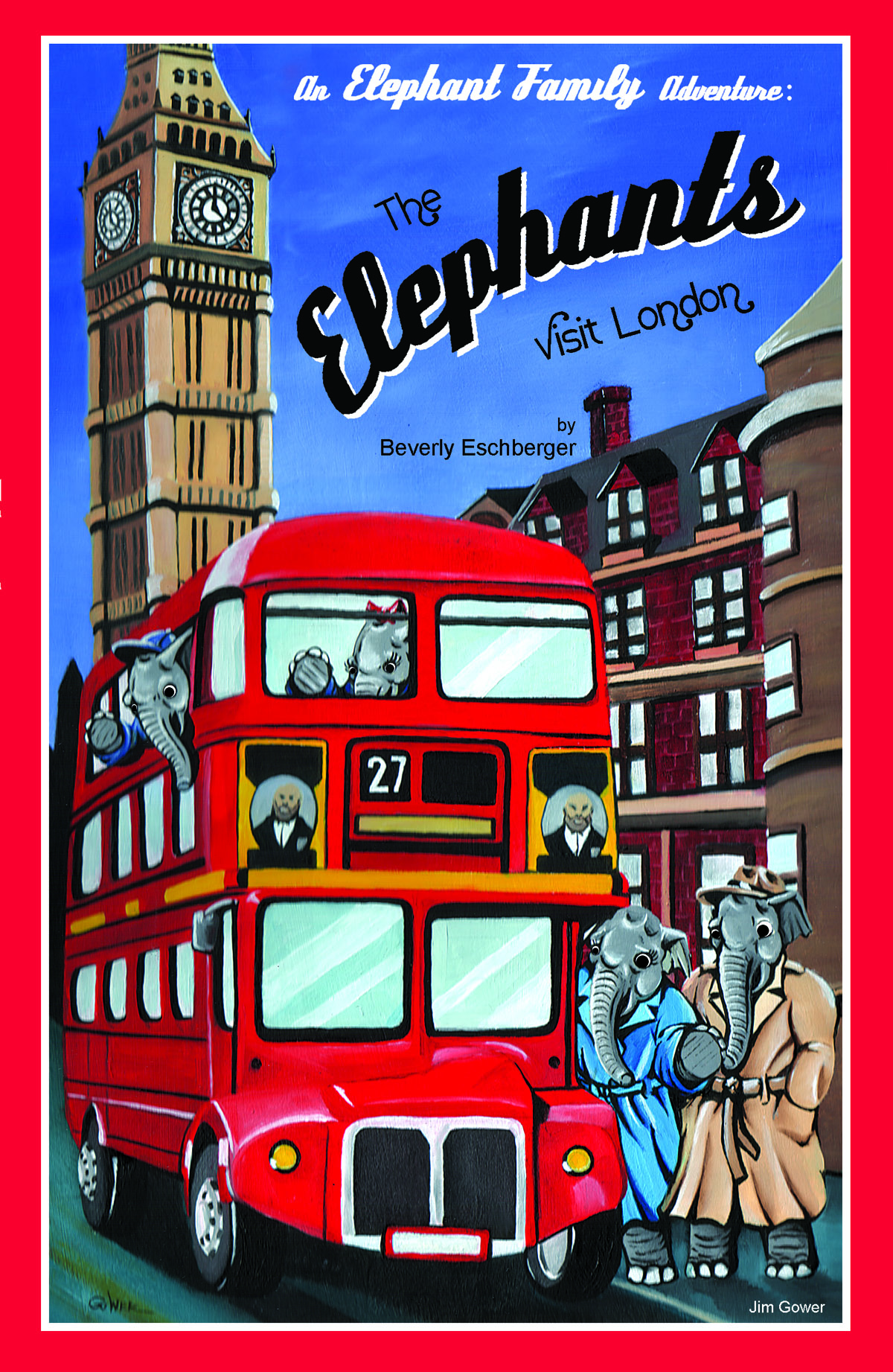 The Elephants Visit London