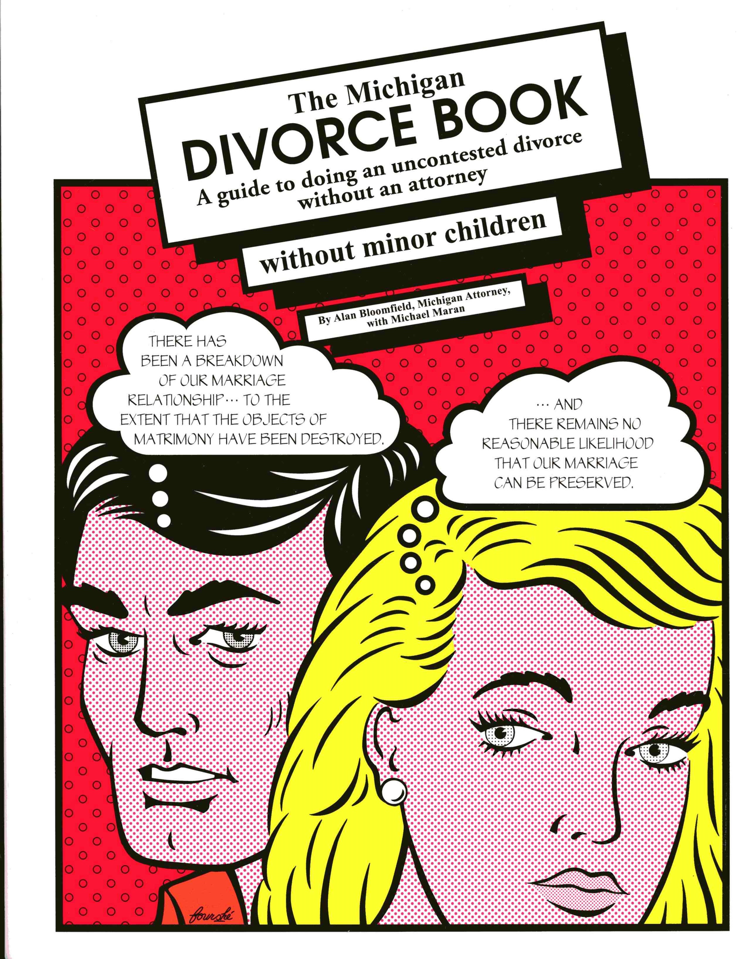 The Michigan Divorce Book without Minor Children
